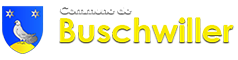 Commune de Buschwiller – Alsace Logo